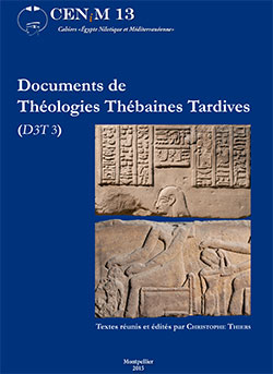Documents de Théologies Thébaines Tardives (D3T 3)