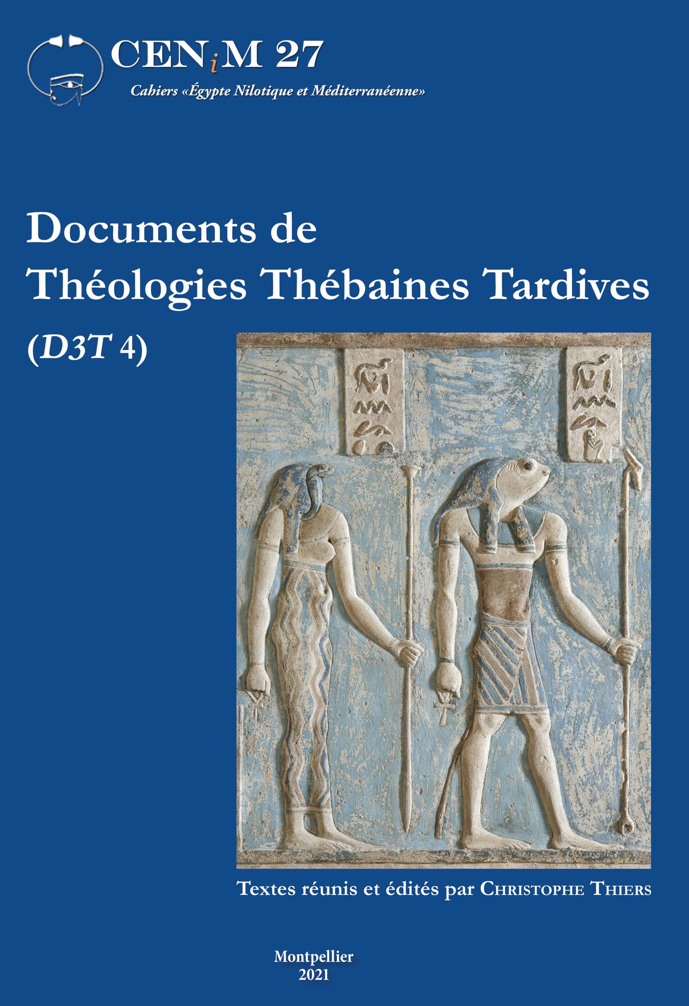 Documents de Théologies Thébaines Tardives (<i>D3T</i> 4)