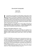 Brigitte Vallée, « Reconstitution d'un hypocéphale »